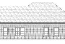 Craftsman Exterior - Rear Elevation Plan #932-26
