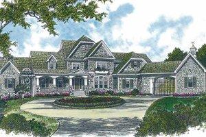 Dream House Plan - Craftsman Exterior - Front Elevation Plan #453-322