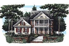House Plan Design - Classical Exterior - Front Elevation Plan #927-277