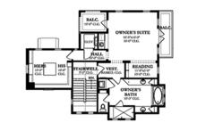 Mediterranean Floor Plan - Other Floor Plan Plan #1058-155