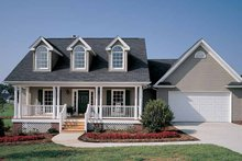 House Plan Design - Country Exterior - Front Elevation Plan #929-221