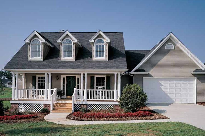 Country Exterior - Front Elevation Plan #929-221 - Houseplans.com