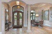 Mediterranean Style House Plan - 3 Beds 3.5 Baths 3877 Sq/Ft Plan #930-447 Interior - Entry