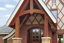 House Plan Design - European Exterior - Front Elevation Plan #928-28
