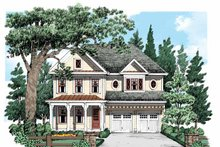 Home Plan - Country Exterior - Front Elevation Plan #927-535