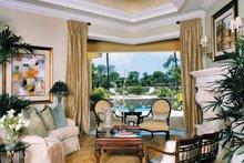 Mediterranean Interior - Family Room Plan #930-314