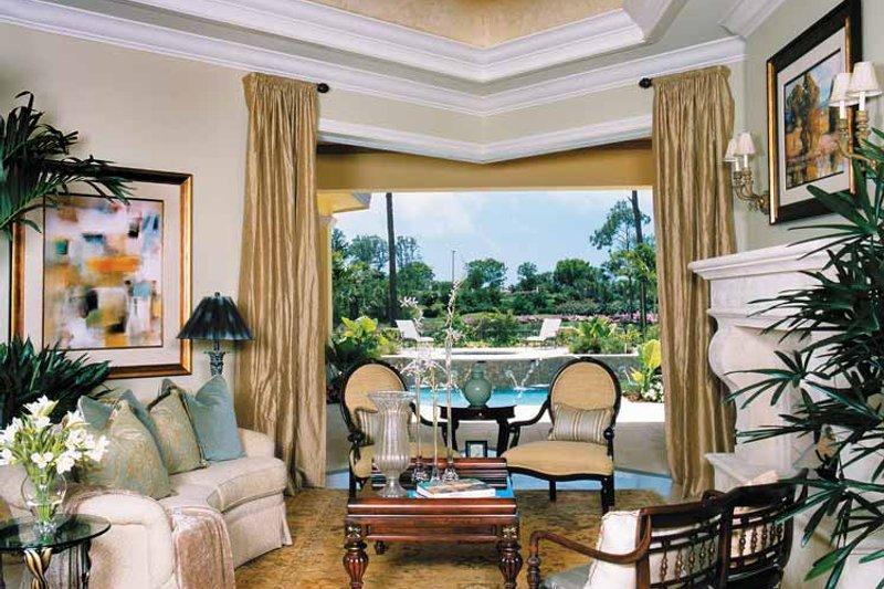 Mediterranean Interior - Family Room Plan #930-314 - Houseplans.com