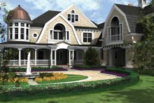 Craftsman Exterior - Front Elevation Plan #132-353