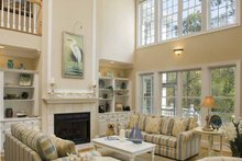 Southern Interior - Family Room Plan #930-123