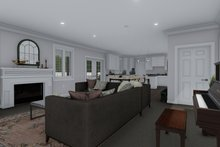 Architectural House Design - Traditional Interior - Family Room Plan #1060-8