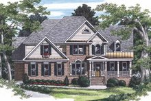 House Design - Traditional Exterior - Front Elevation Plan #927-170