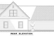 Farmhouse Style House Plan - 3 Beds 2 Baths 1059 Sq/Ft Plan #17-2294 Exterior - Rear Elevation