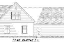 Home Plan - Farmhouse Exterior - Rear Elevation Plan #17-2294