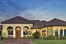 House Plan Design - Mediterranean Exterior - Front Elevation Plan #930-58
