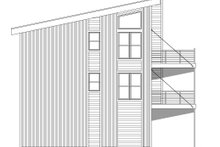 House Plan Design - Contemporary Exterior - Other Elevation Plan #932-256