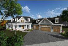Dream House Plan - Craftsman Exterior - Front Elevation Plan #70-1288