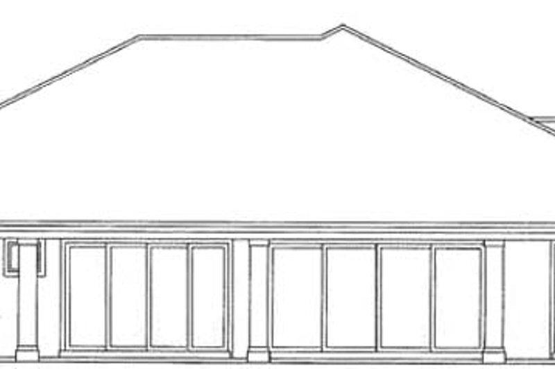 Mediterranean Exterior - Rear Elevation Plan #930-326 - Houseplans.com