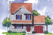 Dream House Plan - Victorian Exterior - Front Elevation Plan #320-908
