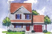 Architectural House Design - Victorian Exterior - Front Elevation Plan #320-908