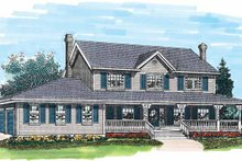 House Plan Design - Victorian Exterior - Front Elevation Plan #47-768
