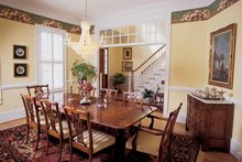 House Plan Design - Classical Interior - Dining Room Plan #54-189