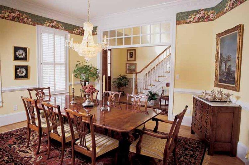 Classical Interior - Dining Room Plan #54-189 - Houseplans.com
