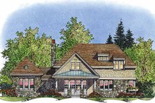 Dream House Plan - Country Exterior - Rear Elevation Plan #1016-69
