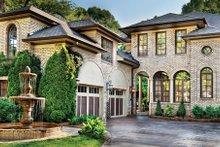 Dream House Plan - Mediterranean Exterior - Front Elevation Plan #930-70