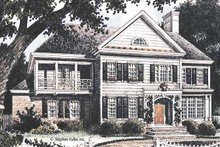 House Plan Design - Country Exterior - Front Elevation Plan #429-362