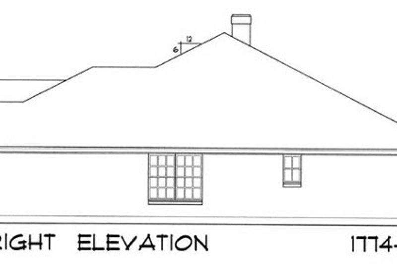 European Exterior - Other Elevation Plan #40-187 - Houseplans.com