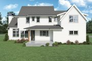 European Style House Plan - 3 Beds 3 Baths 2532 Sq/Ft Plan #1070-142