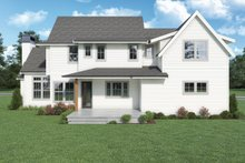 Home Plan - European Exterior - Rear Elevation Plan #1070-142