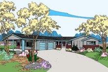 House Plan Design - Ranch Exterior - Front Elevation Plan #60-509