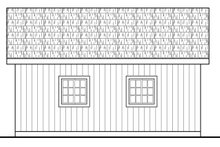 Traditional Exterior - Other Elevation Plan #124-1040