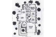 Colonial Style House Plan - 3 Beds 2 Baths 1578 Sq/Ft Plan #310-764 Floor Plan - Main Floor