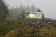 House Blueprint - Modern Exterior - Front Elevation Plan #497-61