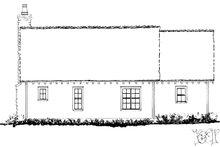 Cabin Exterior - Rear Elevation Plan #942-59