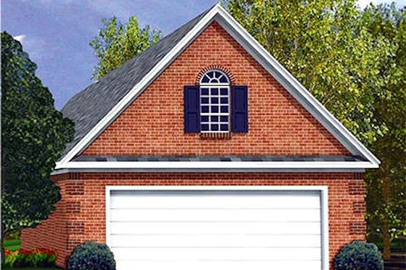 Traditional Exterior - Front Elevation Plan #21-170