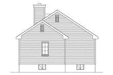 House Plan Design - Ranch Exterior - Rear Elevation Plan #22-615