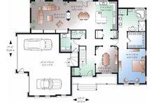 European Floor Plan - Main Floor Plan Plan #23-829