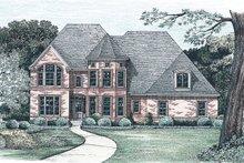 Dream House Plan - European Exterior - Front Elevation Plan #20-1580