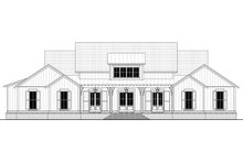 House Blueprint - Farmhouse Exterior - Other Elevation Plan #430-197