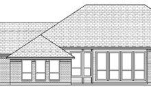 Dream House Plan - European Exterior - Rear Elevation Plan #84-521