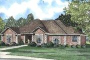 European Style House Plan - 4 Beds 3 Baths 2540 Sq/Ft Plan #17-1035