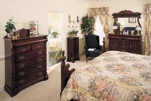 Ranch Interior - Bedroom Plan #929-176