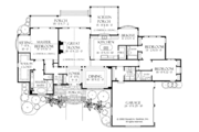 Craftsman Style House Plan - 3 Beds 3.5 Baths 2882 Sq/Ft Plan #929-928 Floor Plan - Main Floor Plan