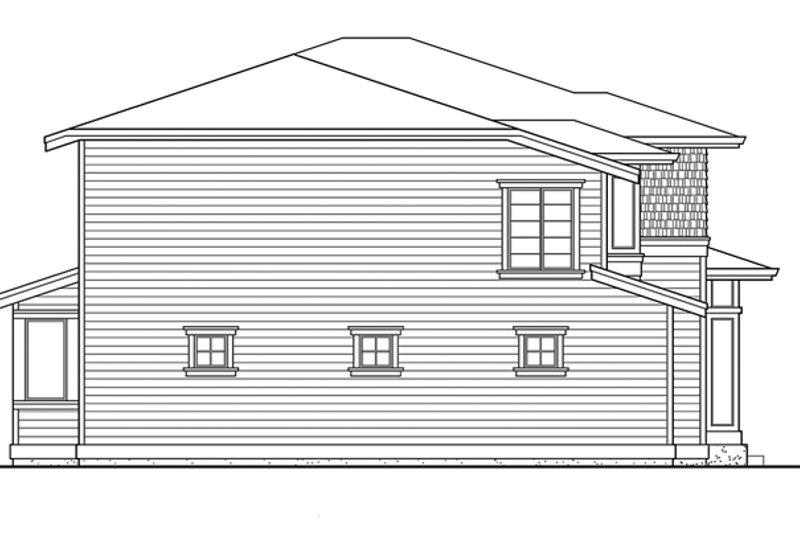 Prairie Exterior - Other Elevation Plan #132-382 - Houseplans.com