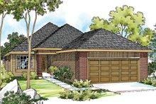 Exterior - Front Elevation Plan #124-334