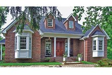 Home Plan - Country Exterior - Front Elevation Plan #314-284