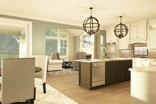 House Design - Ranch Interior - Kitchen Plan #1010-185